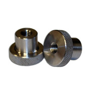 "Backplate Stainless Steel Speed Nuts - 5/16"" Thread"