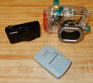 Used Canon S95 Camera with Case