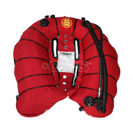 OMS Deep Ocean Wing with Retention Bands - 94lb Lift - Red