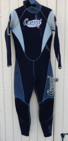 Used Cressi Semi Dry 6.5mm Suit - Small/Medium