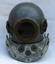 Antique Chinese Diving Helmet - Great Shape