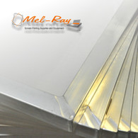 25x36 Aluminum Frame with 125 Mesh