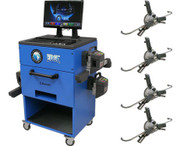 Atlas Edge 601 With BlueTooth Wireless Sensors And FastClamp Wheel Clamps