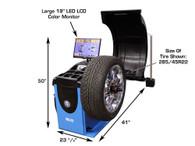 Atlas WB55 Self-Calibrating Computer Wheel Balancer