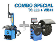 Atlas TC229 / WB41 - Tire Changer / Wheel Balancer Package