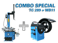 Atlas TC289 / WB11 - Tire Changer / Wheel Balancer Package