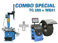 Atlas TC289 / WB41 - Tire Changer / Wheel Balancer Package