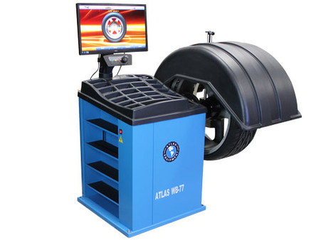 Atlas WB77 Self-Calibrating Computer Wheel Balancer