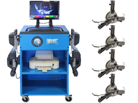 Atlas® Edge 501 Wireless 8 Camera Alignment Machine With FastClamps And Turntables