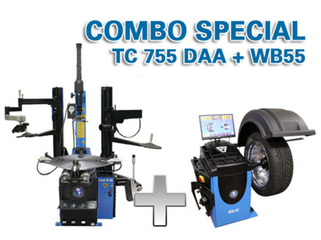 TC755DAA + WB55 Tire Changer and balance