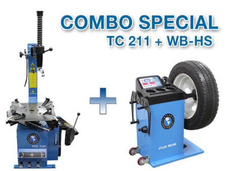 COMBO - TC211 + WB-HS Wheel Balancer and Tire Changer