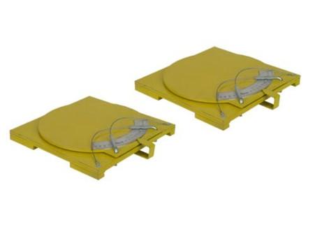 Atlas® Alignment Turntables (Pair)