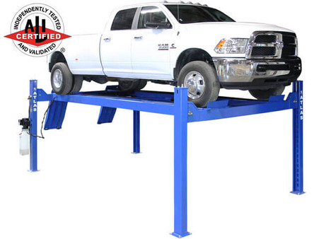 Apex 14 Commercial Grade Heavy Duty 4 Post Alignment Lift - ALI Certified