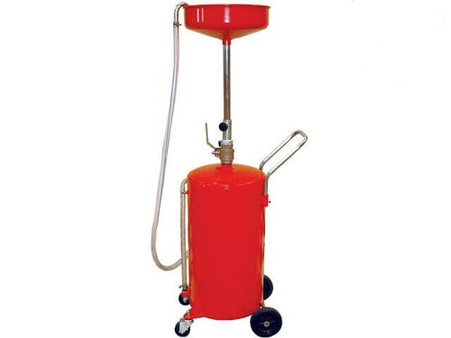 18 Gallon Steel Pressurized Oil Drain