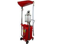 18 Gallon Pressurized Portable Steel Oil Extractor and Oil Drain