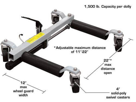 Move-It Wheel Dolly, 1,500lb. (HTMD)
