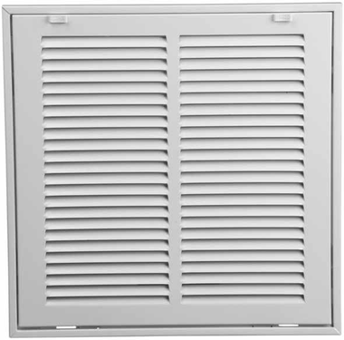 12x30 return air filter grille stamped face
