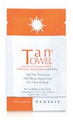 Tan Towel Classic 1 Packet Half Body Application