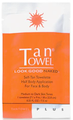 Tan Towel Plus Formula 1 Packet Half Body Application