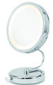 Danielle Mirror 10X Lighted Fold Away