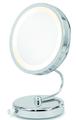 Danielle Mirror 10X Lighted Fold Away