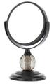Danielle Mini Black Crystal Mirror