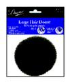 Large Black Hair Donut