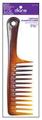 "9.75"" Tortoise Shampoo Comb"