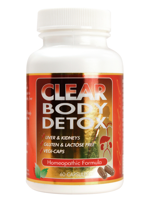 Clear Body Detox 60 capsule bottle