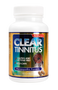 Clear Tinnitus 60 capsule bottle. Clear Tinnitus may help stop or reduce the ringing, hissing, and popping noises associated with tinnitus.