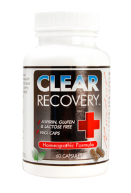 Clear Recovery 60 capsule bottle