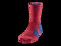 Nike Elite 2.0 Crew Basketball Sock Puerto Rico #SX4668-654 - University Red/Game Royal/University Red