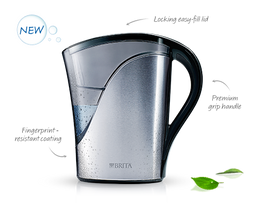 635823 brita 8 glass stainless steel water filtration pitcher forum home appliances - Glass filtered water pitcher ...