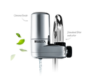 Brita Faucet Mounted Water Filter |635635| 3-stream, Chrome