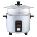 Panasonic Rice Cooker |SRW10FGE| 5-Cup, Traditional, Silver