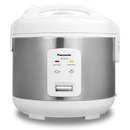 Panasonic Rice Cooker |SRJN105SW| 5-cup, Stainless White