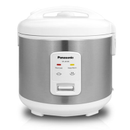 Panasonic Rice Cooker |SRJN185SW| 10-cup, Stainless White