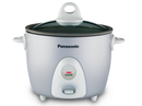 Panasonic Rice Cooker |SRG06FGL| 3-Cup, Traditional