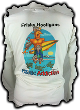 FRISKY HOOLIGANS BACK DESIGN