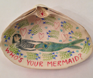 Clam Shell Dish - Who's Your Mermaid