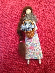 Sachet Doll - Flower Girl