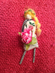 Sachet Doll - Rose Petal