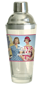 Anne Taintor Cocktail Shaker - we came… we shopped… we're ready for cocktails