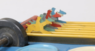 Wolverine Gee-Wiz Tin Horse Racing Game With Original Box!