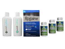 Rogaine Foam , Regenepure Shampoo and hair loss pills Hair Loss Kit