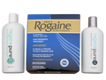 Rogaine and Regenepure hair loss shampoo