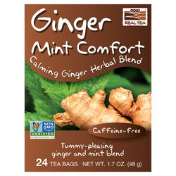 Ginger Mint Comfort Tea Bags - 24 Bags