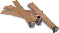 WW-7 - Wooden Wick Soy Wax - Medium Crackle (Bag of 25)