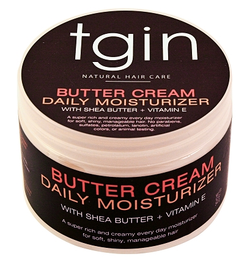 With Shea Butter & Vitamin E - A daily moisturizer for soft, shiny, manageable hair.