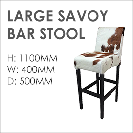 Large Savoy Bar Stool